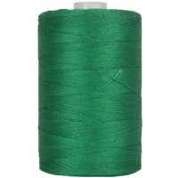 Threadart Cotton Sewing Thread - 1000m Spools - 50/3 - Red - 50 Colors Available - Pack of 3 Spools
