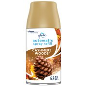 Glade Automatic Spray Refill Cashmere Woods, Fits in Holder For Up to 60 Days of Freshness, 6.2 oz, 1 Refill