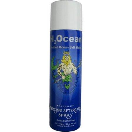 H2ocean 4oz Piercing Aftercare Spray Walmartcom