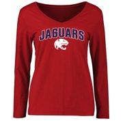 3d6a4b3f South Alabama Jaguars Women's Proud Mascot Long Sleeve T-Shirt - Red