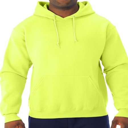 Men's Soft Medium-Weight Fleece Hooded Pullover Sweatshirt