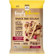 Nestle Toll House Simply Delicious Cranberry Walnut wuth Dark Chocolate Snack Bar Dough, 14 Oz.