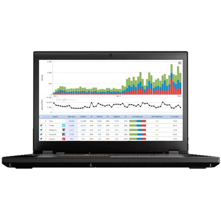 "Lenovo ThinkPad P51 Mobile Workstation Laptop - Windows 10 Pro - Intel i7-7700HQ, 8GB RAM, 1TB SSD, 15.6"" FHD IPS (1920x1080) Display, NVIDIA Quadro M1200M, Fingerprint Reader, AC Wi-Fi"
