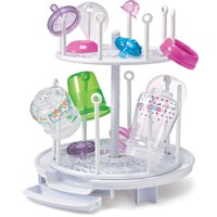 The First Years Spin Stack Drying Rack, 2 Level Bottle Drying Rack