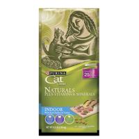 Purina Cat Chow Naturals Indoor Plus Vitamins & Minerals Adult Dry Cat Food, 6.3 lb
