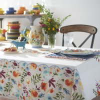 The Pioneer Woman, Willow Tablecloth, Available in Multiple Sizes