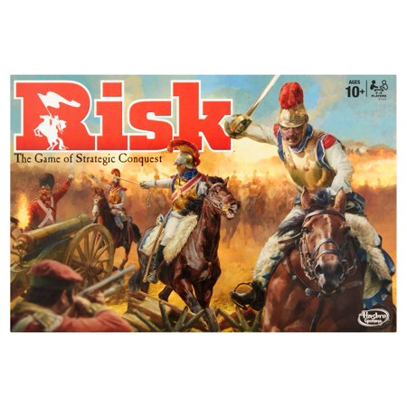 Risk The Game of Stategic Conquest - Group Games In The Dark