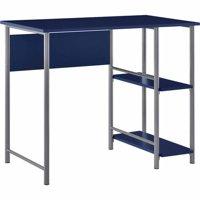 Ameriwood Home Garrett Metal office Desk with 2 side Shelves, Multiple Colors