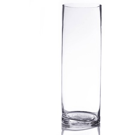 Crystal Clear Glass Vase - 4