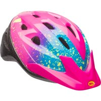 Bell Sports Rally Girls Child Bike Helmet, Pink Splatter