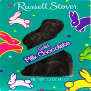 Russell Stover Milk Chocolate Solid Easter Bunny, 1.5 Oz.
