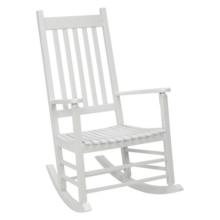 Adult Sized Rocking Chair (Jack Post Knollwood Mission Rocker in White)