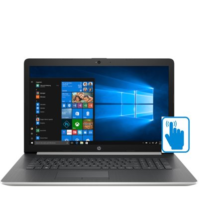"HP 17z High Performance 17.3 HD+ TouchScreen Laptop (AMD Ryzen 3 2200U, 8GB RAM, 1TB HDD, 17.3"" HD 1600 x 900 Touch, AMD Radeon Vega 3, DVD, WiFi, Bluetooth, Win 10 Home) Silver"