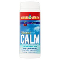 Natural Vitality Cherry Flavor Natural Calm, 8 oz