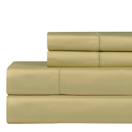 Celeste Home 610 Thread Count 4 Piece Pima 100pctCotton Sheet Set