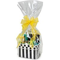 """10 Clear Cello / cellophane Basket Bags - 14"""" x 23 7/8 inch Large Gift Packaging"""