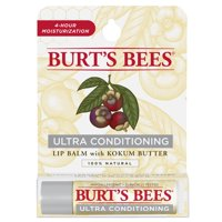 Burt's Bees 100% Natural Moisturizing Lip Balm, Ultra Conditioning with Kokum Butter, 1 Tube in Blister Box