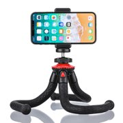 BlitzWolf Tripod for Phone & Camera, 28.5cm Flexible Tripod with Bluetooth Remote & Phone