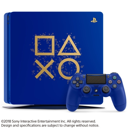 Sony PlayStation 4 1TB Slim Days of Play Limited Edition Blue,