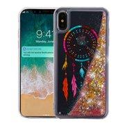 Apple iPhone Xs Max (6.5 Inch) - Phone Case BLING Hybrid Liquid Glitter  Quicksand 85bf4f53fc05