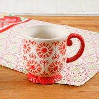 The Pioneer Woman Floral Bursts Footed 19oz Mug