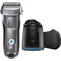 Braun Series 7 7865cc ($30 Mail In Rebate Available!) Men's Electric Foil Shaver, Wet and Dry Razor with Clean & Charge Station