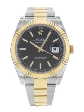 Rolex Datejust 41 126333 bkio 18K Yellow Gold Steel Automatic Mens Watch