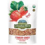(2 Pack) Cascadian Farm Organic Strawberry Granola, 10.5 oz