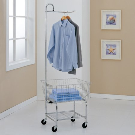 - Neu Home Commercial Grade Chrome Laundry Cart