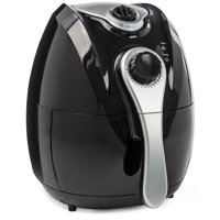 Best Choice Products 4.4qt Oil-Free Home Kitchen Electric Air Fryer w/ Rapid Air Circulation, Temperature Control, Timer, Detachable Handles - Black