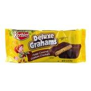 Keebler Deluxe Grahams Graham Crackers, Fudge Covered, 12.5 Oz