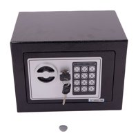 Ktaxon Durable Digital Electronic Safe Box Keypad Lock Home Office Hotel Safety Black