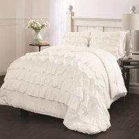 Latitude Ruby Ruffle Bedding Comforter Set