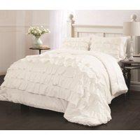 Latitude Ruby Ruffle Bedding Comforter Set