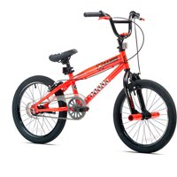 "X-Games 18"" Boys', BMX Bike, Neon Orange, For Ages 6-9"
