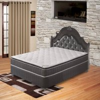 Pillow Top Pocketed Coil Orthopedic Mattress and Box Spring, Acura Collection, Multiple Sizes