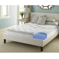 Contura Flex 10 Inch Pillow Top Medium Firm Innerspring Hybrid Mattress Bed