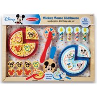 Mickey Mouse Pizza and Cake