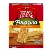Keebler Town House Focaccia Tuscan Cheese Crackers, 9 oz