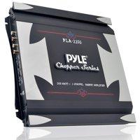 PYLE PLA2200 - 2-Channel 1,400-Watt Bridgeable Mosfet Amplifier