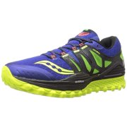 finest selection 35997 80b63 Saucony Men s Xodus Iso Trail Running Shoe, Blue Black Citron, ...