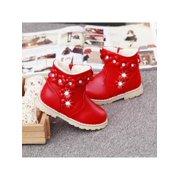 049ba762f250 Meigar Winter Warm Kids Girls Fur Snow Boots Short Boots Gift Shoes
