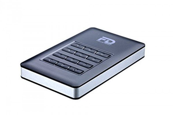 - Fantom Drives DataShield 500GB SSD 256-bit AES Hardware Encrypted Portable USB 3.0 Solid State Drive
