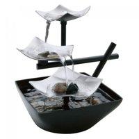 HoMedics EnviraScape Silver Springs Relaxation Fountain, WFL-SLVS