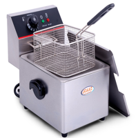 Hakka Commercial Stainless Steel 6L Deep Fryers Electric Professional Restaurant Grade Turkey Fryers (TEF-6L)