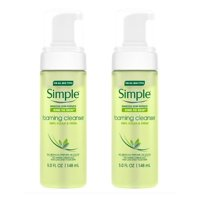 (2 Pack) Simple Kind to Skin Facial Care Foaming Facial Cleanser 5 oz