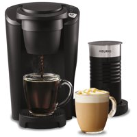 Keurig K-Latte Coffee Maker with Milk Frother, Compatible with all Single Serve K-Cup Pods, Black