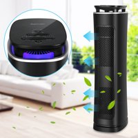Air Purifier with True Hepa Filter, Air Purifier Odor Allergies Eliminator for Home, Smokers, Smoke, Dust, Mold and Pets, Air Cleaner with Night Light