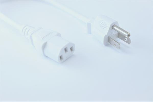 OMNIHIL Replacement (WHT-8FT) AC Power Cord for TC Electronic M-350 Reverb and Effects Processor