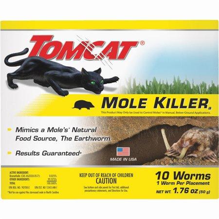 - Tomcat Mole Killer, 10 Count